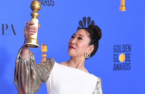 Sandra Oh é a primeira mulher asiática a bater recorde no Globo de Ouro