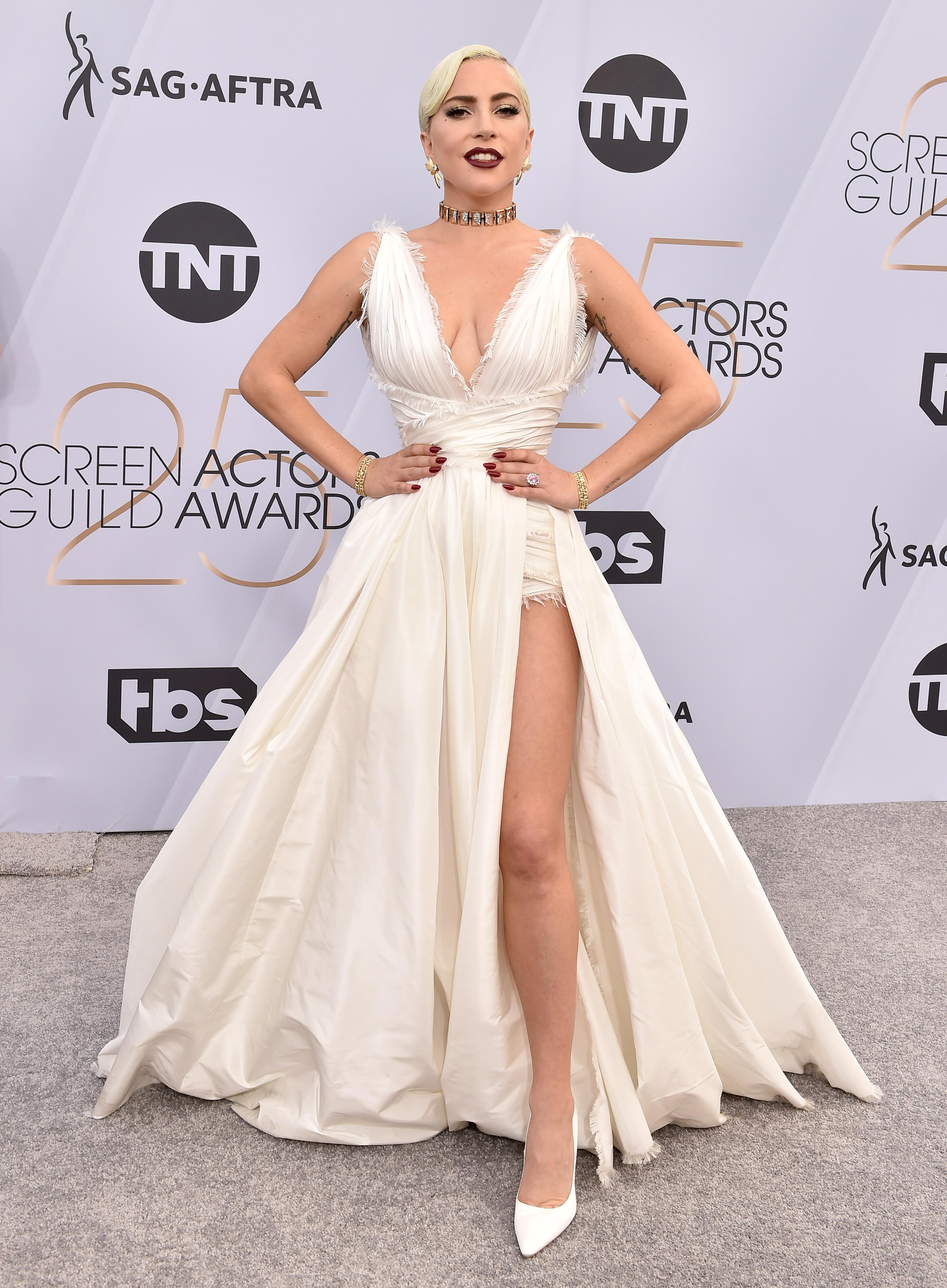 Lady Gaga no SAG Awards 2019.