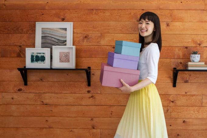 Marie Kondo ama caixas!
