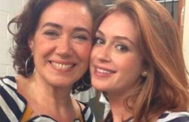 Marina Ruy Barbosa e Lília Cabral negam briga: 'jamais chamaria ela de mimada'