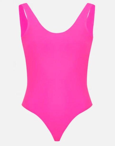 Body rosa néon da Amaro (R$ 129,90*).