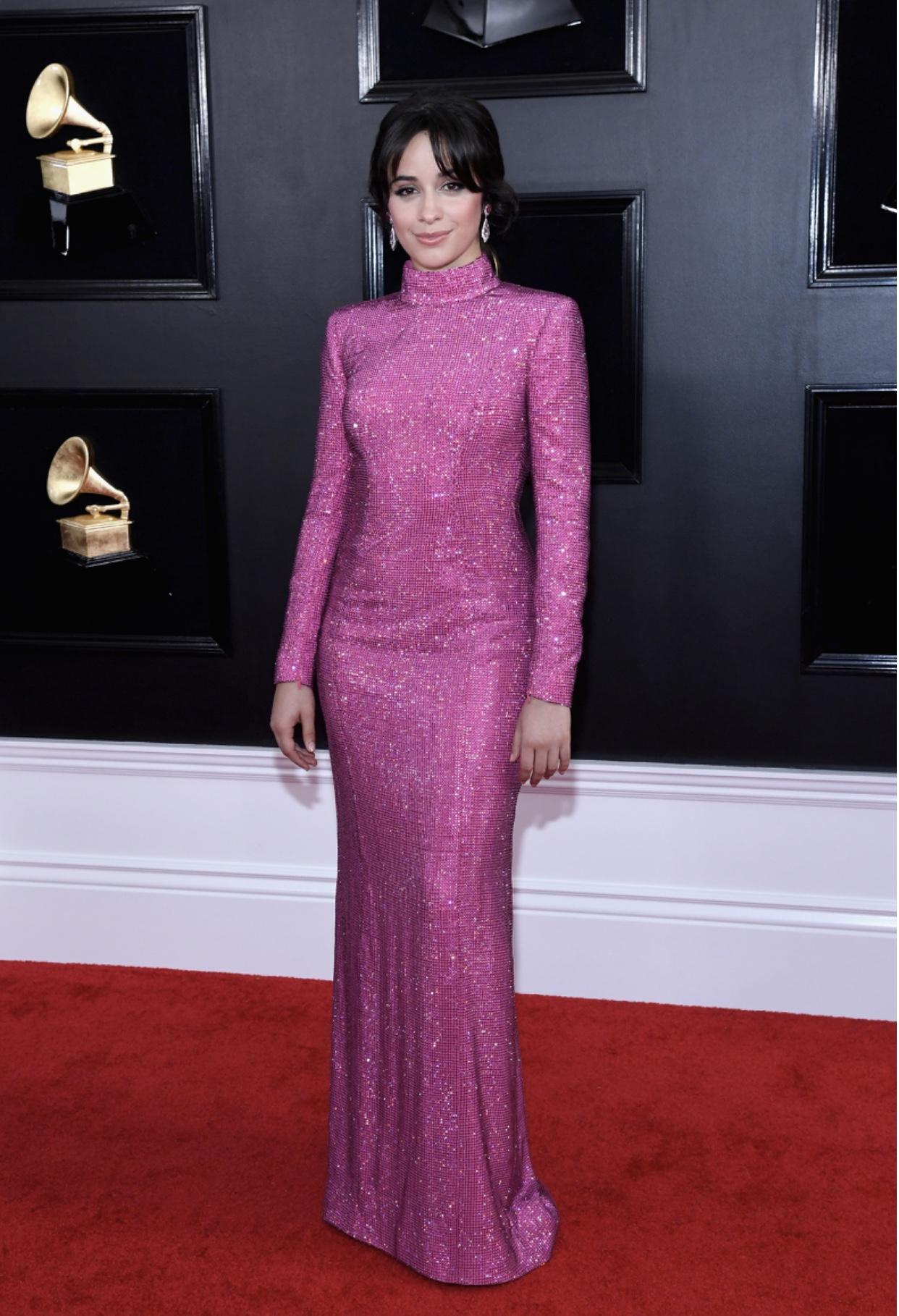 Look da Camila Cabello no Grammy 2019