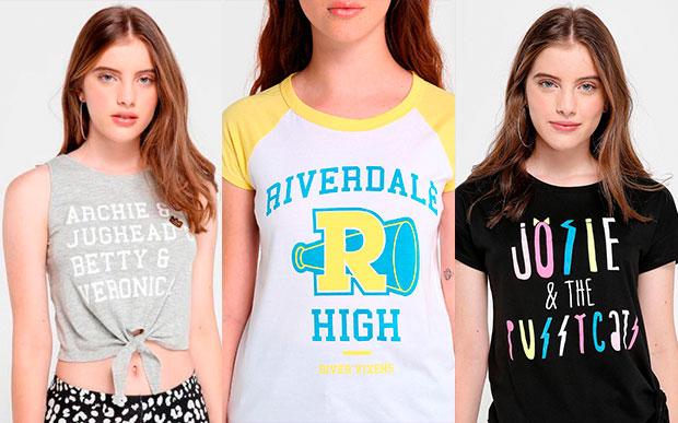 Camisetas da Riachuelo inspiradas em Riverdale
