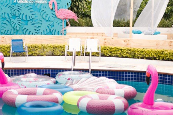 casa de praia gillette venus piscina