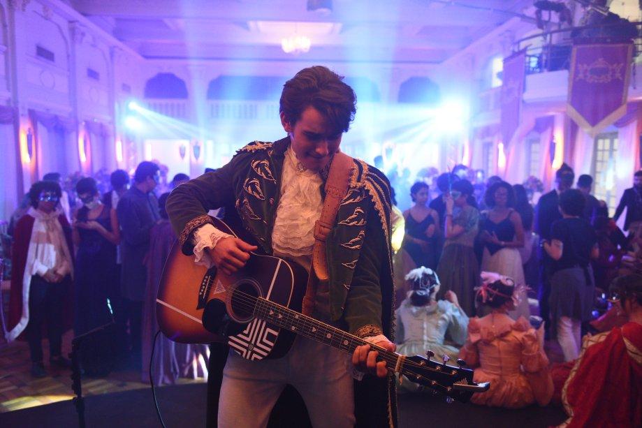 01 sonho: poder ver um show do ídolo pop Freddy Prince (Felipe Bragança)