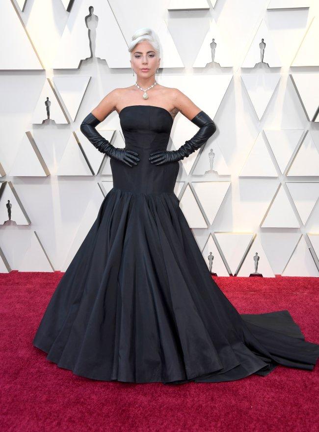 Lady Gaga no Oscar 2019.