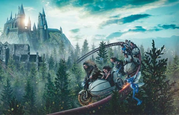 Universal Orlando anuncia detalhes da nova montanha-russa de Harry Potter