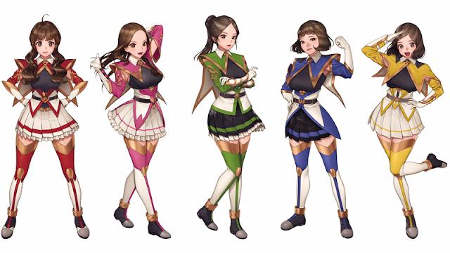 Idol Rangers Powerbusters