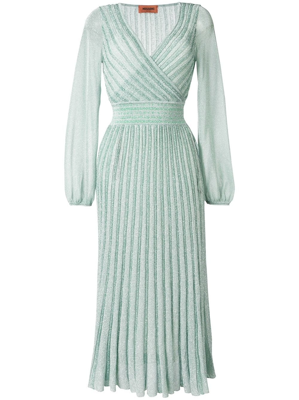 Vestido de lurex da Missoni