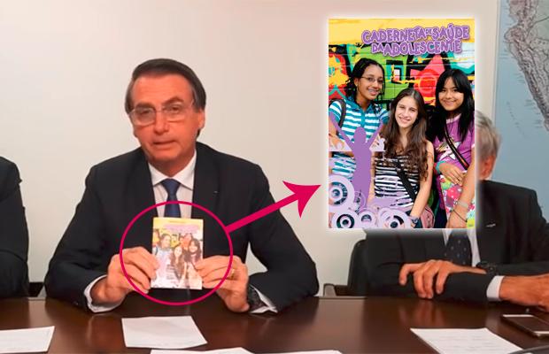 O que é a 'ofensiva' Caderneta do Adolescente que Bolsonaro mandou alterar