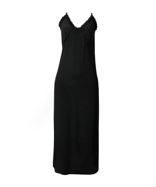 Slip dress preto (R$ 149,99*).