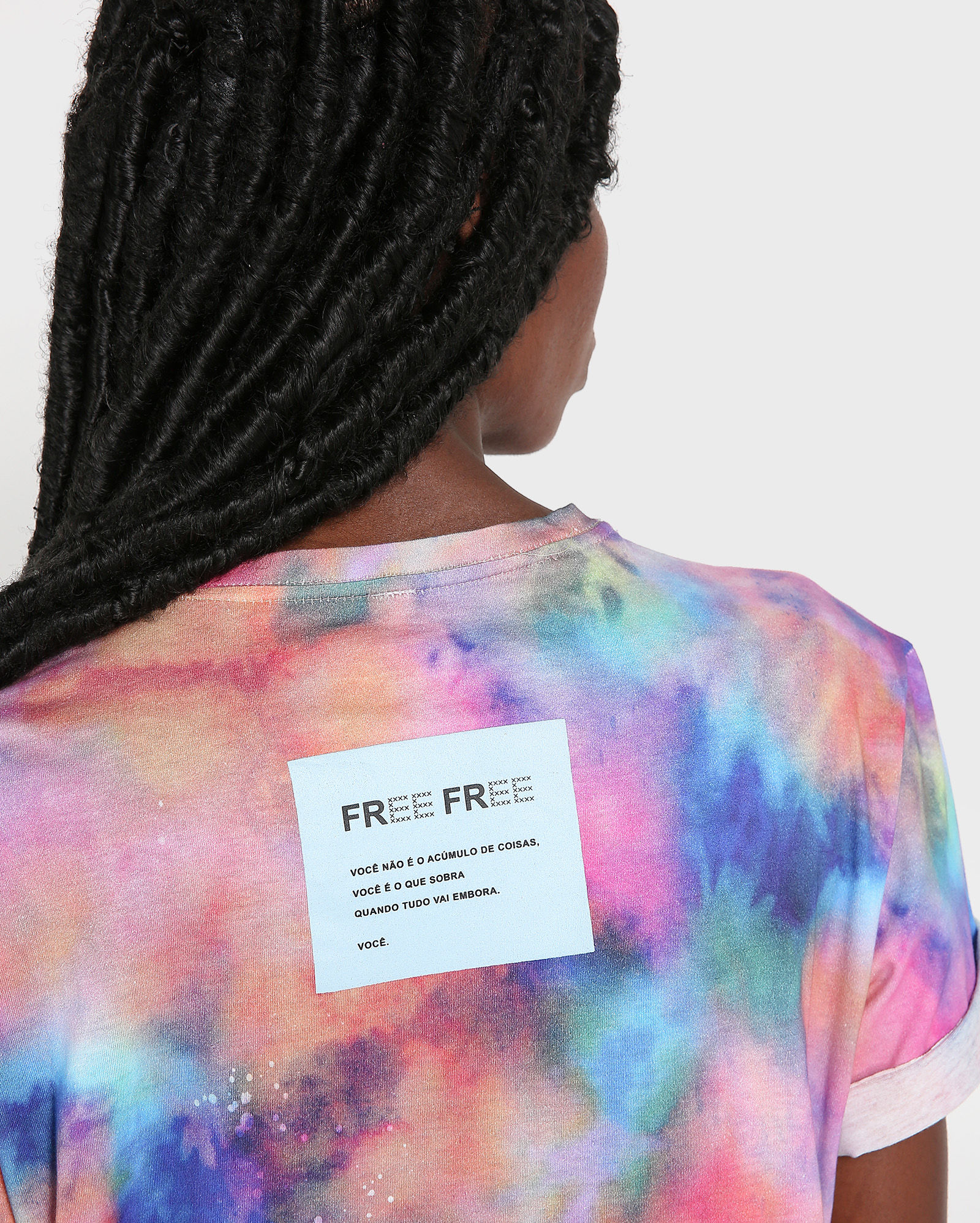 Camiseta Riachuelo x Free Free