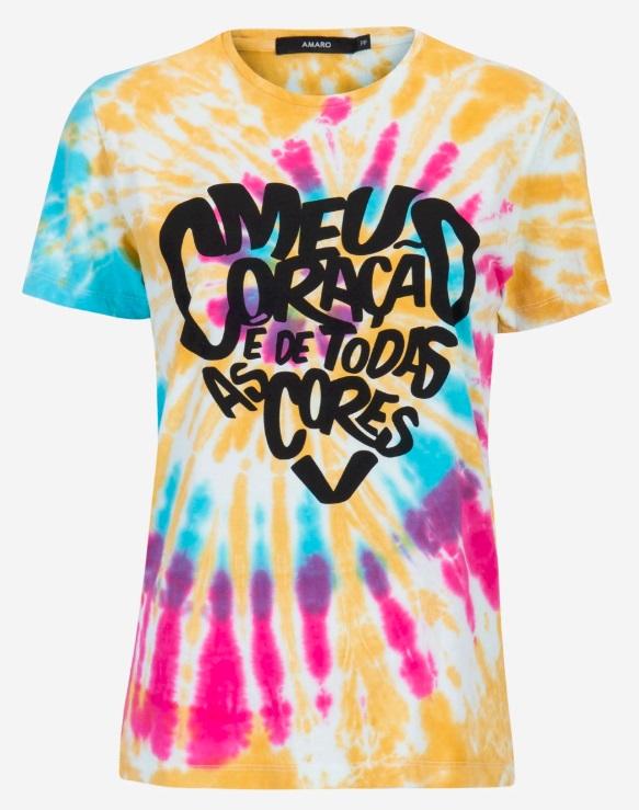 Camiseta tie dye da AMARO