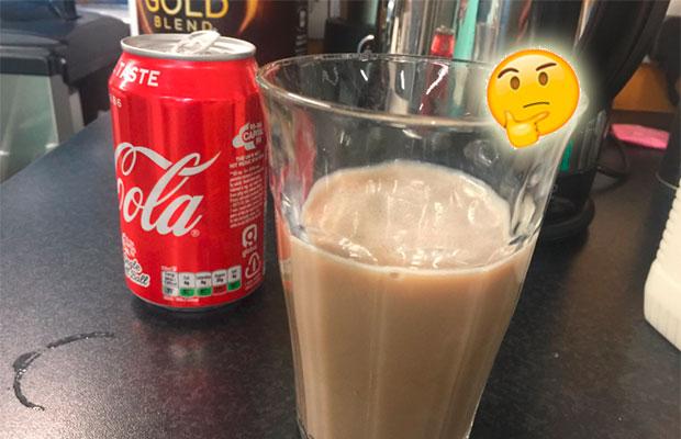Milk Coke? Parece que beber Coca-Cola com leite virou moda no Reino Unido!