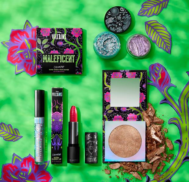 coleção-de-maquiagem-vilões-da-disney-Colourpop