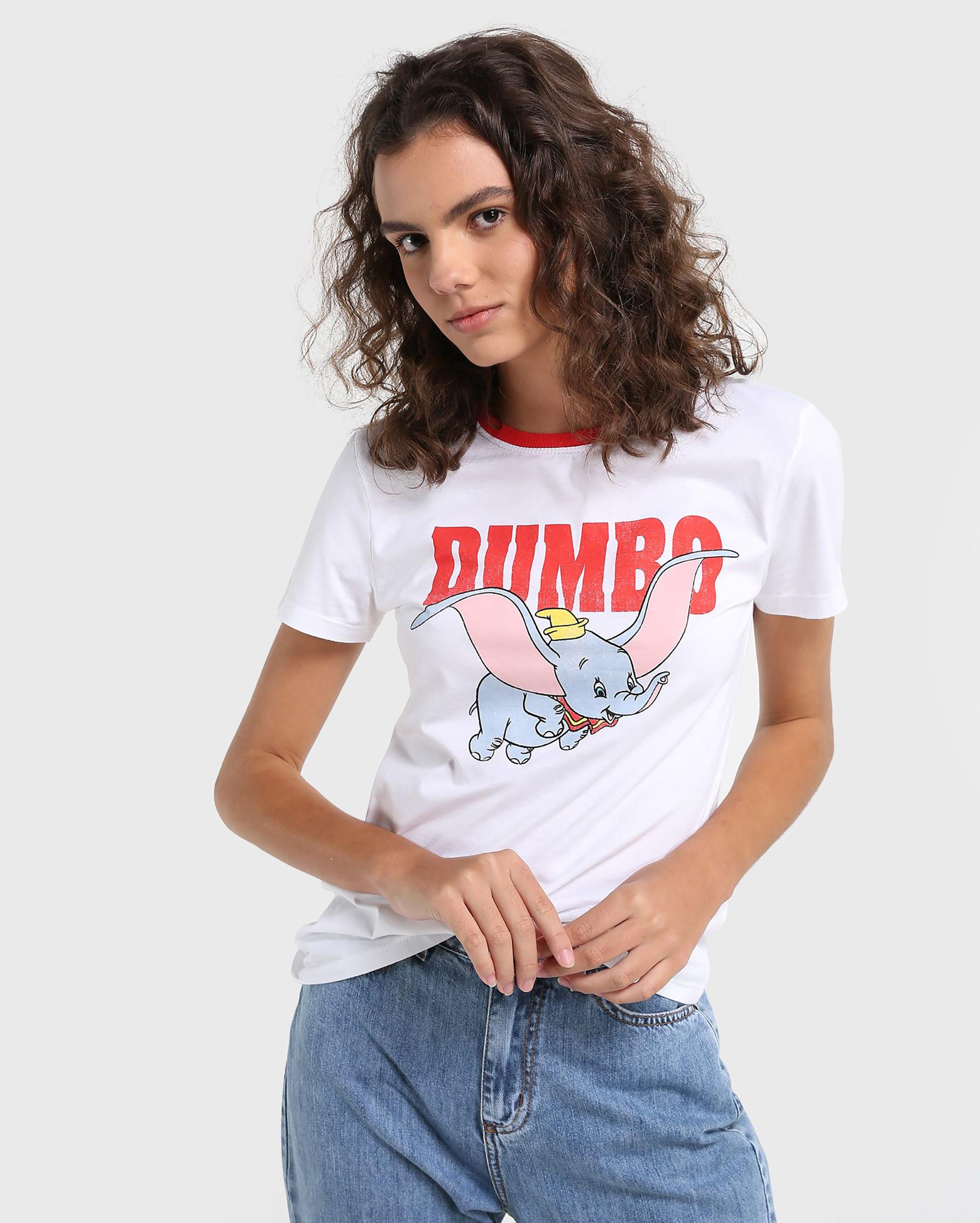 Camiseta da Riachuelo inspirada em Dumbo