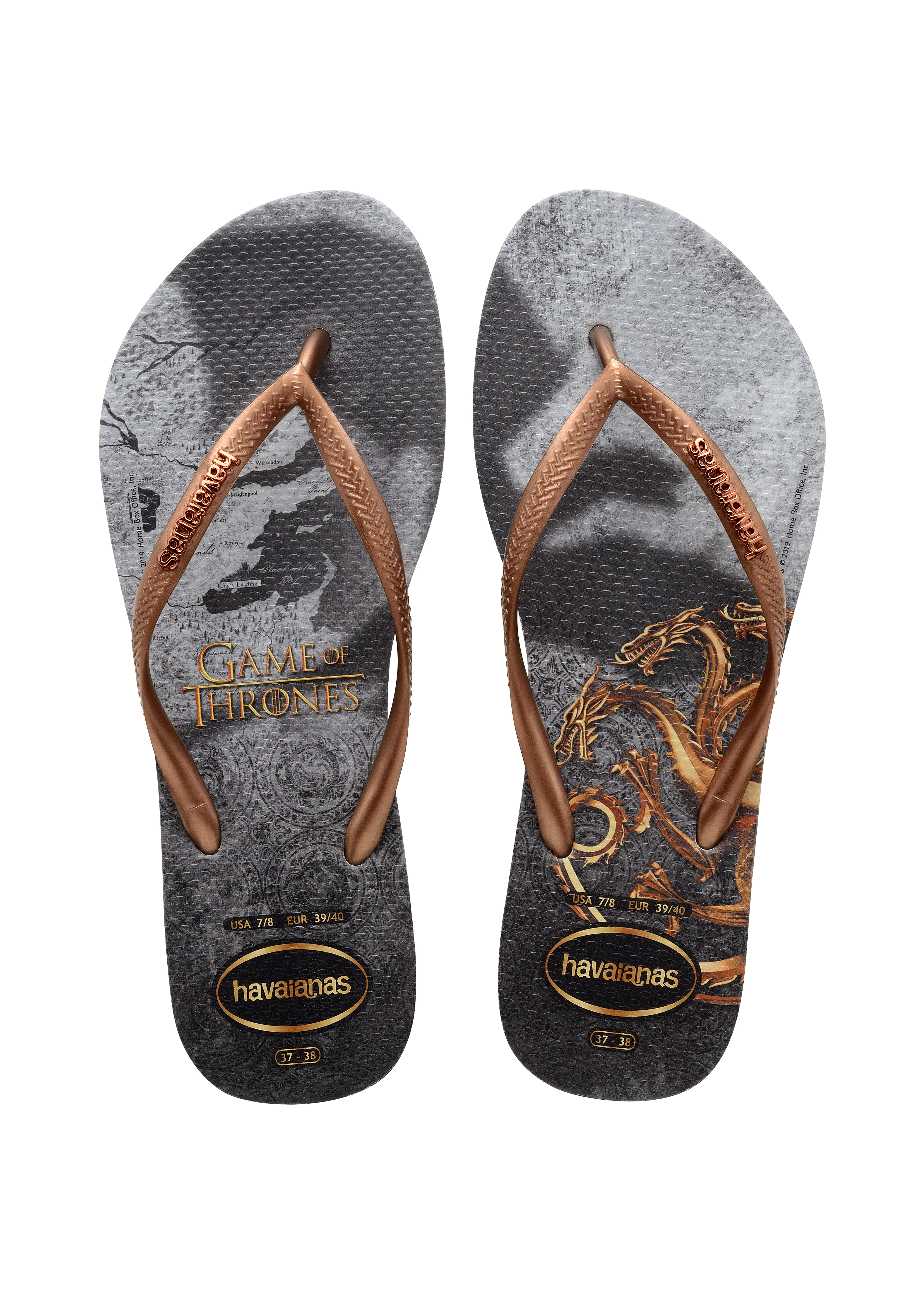 Chinelo da Havaianas inspirado em Game Of Thrones