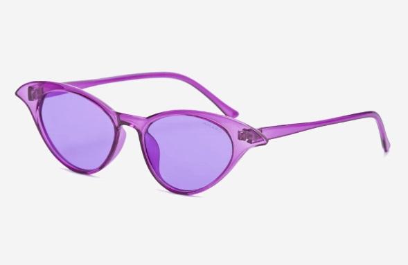 Óculos de sol roxo AMARO