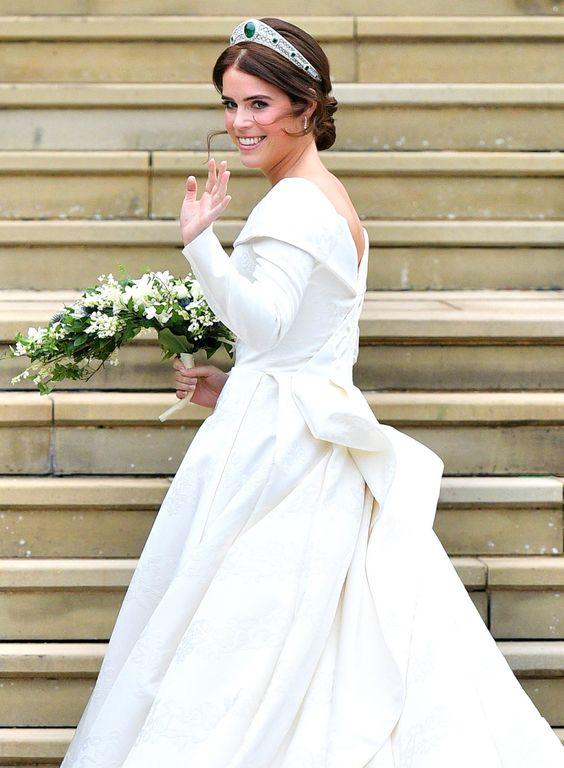 Princesa Eugenie em seu casamento