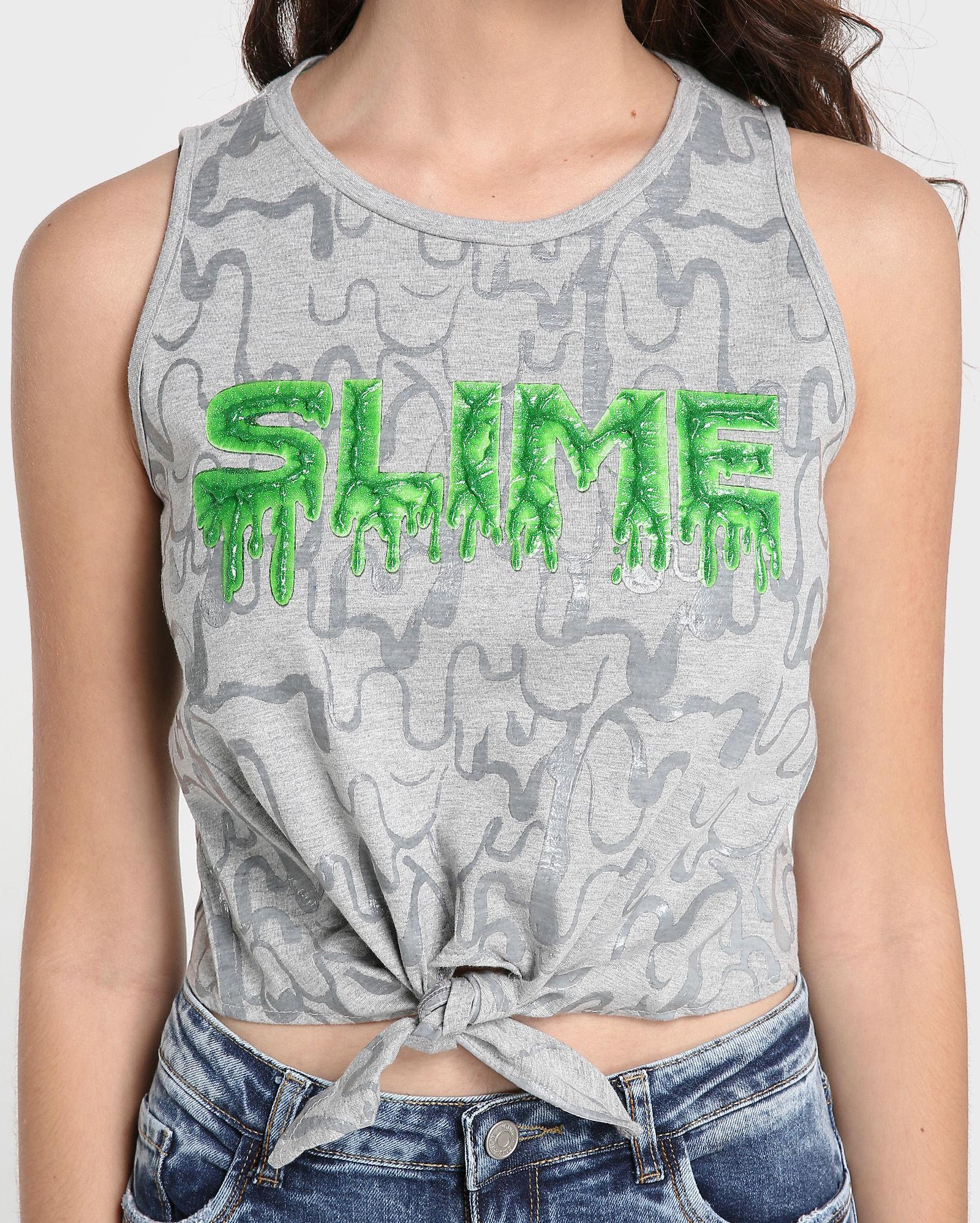 Camiseta da Riachuelo - coleção Slime