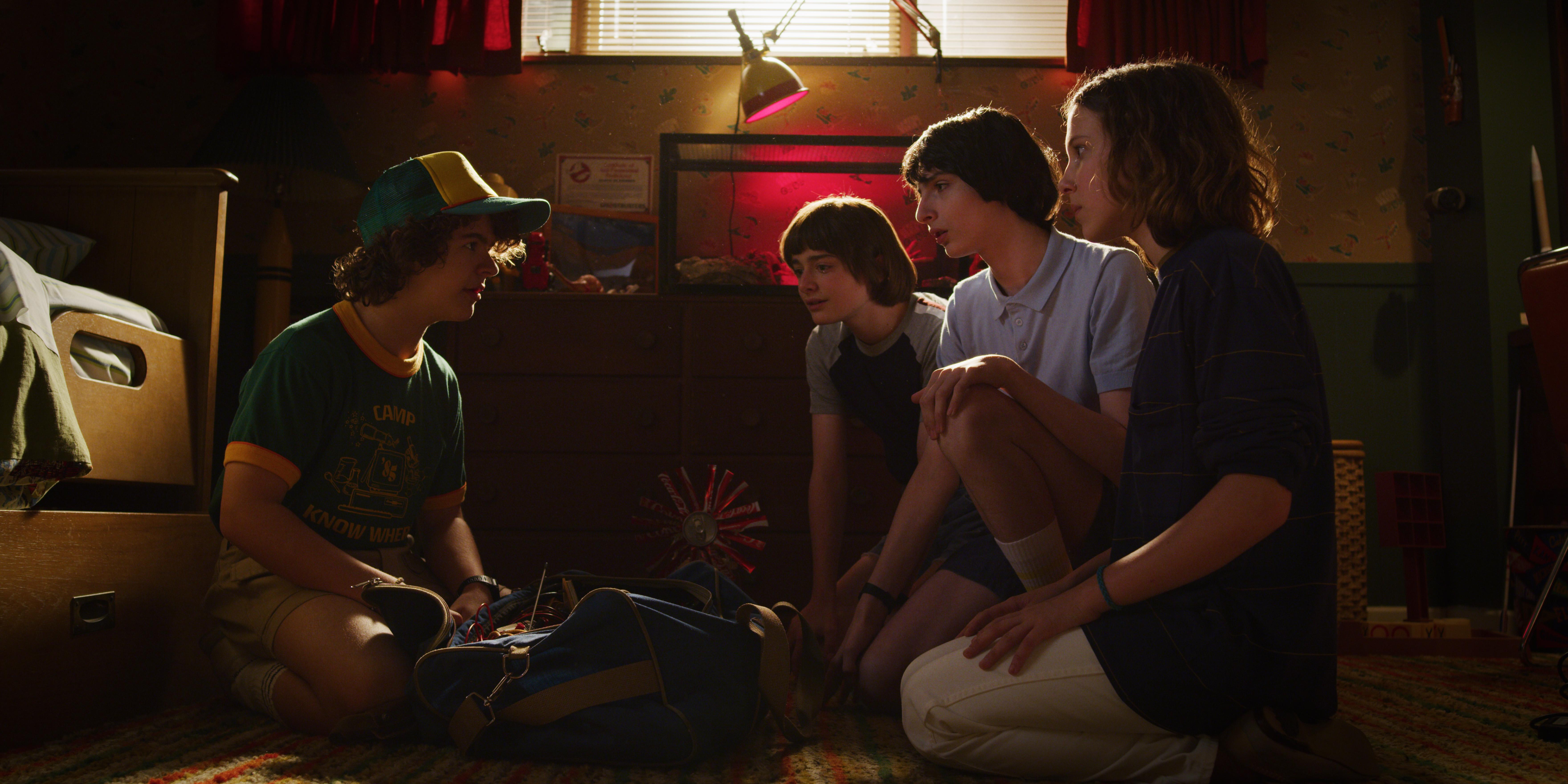 Cena da terceira temporada de Stranger Things