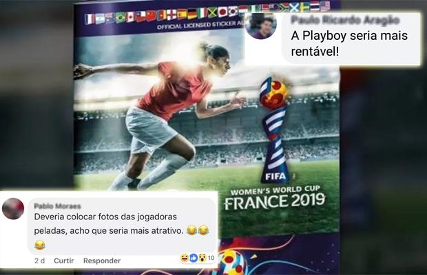 Já tem homem incomodado com álbum de figurinhas da Copa do Mundo feminina