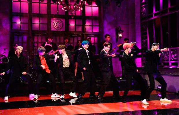 BTS no Saturday Night Live