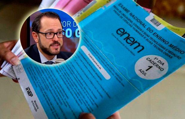 Delegado da Polícia Federal, Elmer Vicenzi, é o novo responsável pelo Enem