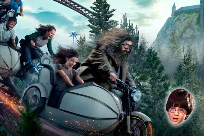 Criatura inédita de Harry Potter será revelada em nova atração de parque