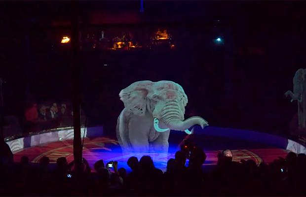 Circo alemão substitui animais adestrados por hologramas: 'é o futuro'