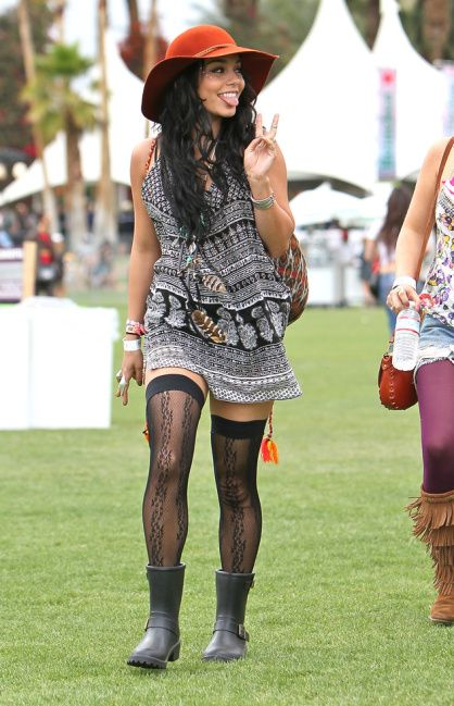 Look Vanessa Hudgens Coachella 2012