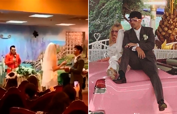 Joe Jonas e Sophie Turner se casam em L.A. na famosa 'Igreja do Elvis'