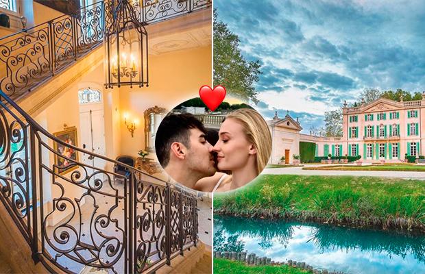 Veja fotos do castelo onde Joe Jonas e Sophie Turner se casarão na França