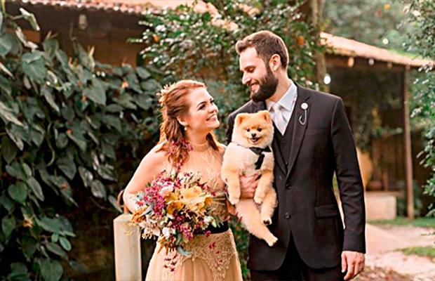 A lembrancinha do casamento da Karol Pinheiro foi incrivelmente poética!