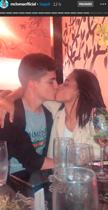 MC Loma posta foto com o namorado nas redes
