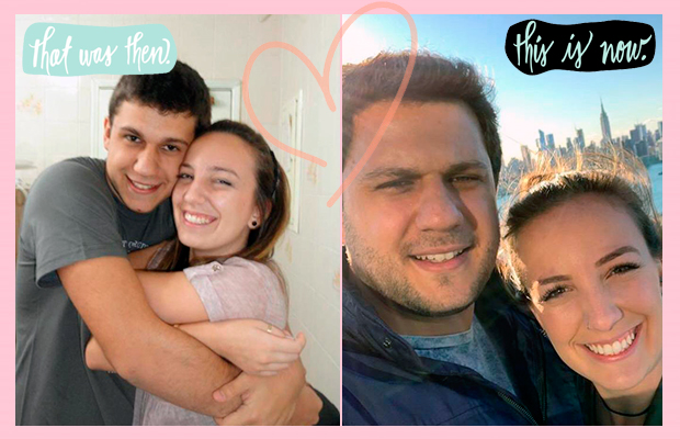 Juntos há 14 anos, Dani e Gui provam que namoro de escola tem futuro, sim!