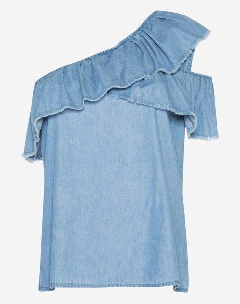 Blusa ombro a ombro Amaro (R$ 139,90*).