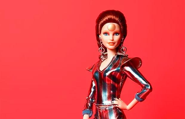 Lançaram uma Barbie em homenagem ao David Bowie e ela é de outro mundo!