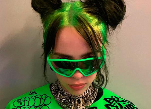 Billie-Eilish-cabelo-verde