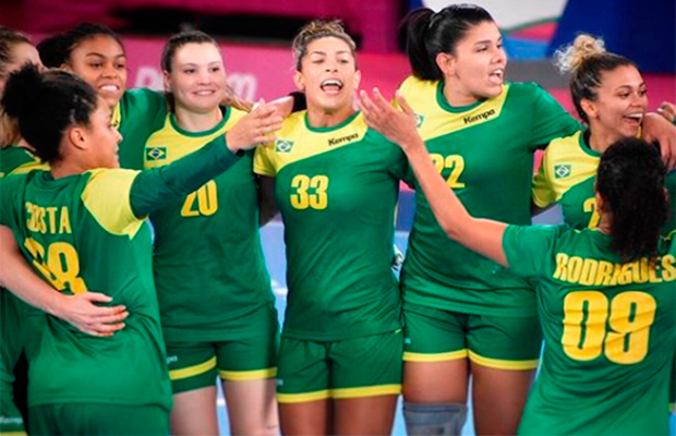 Sai da frente! Seleção Brasileira Feminina de Handebol é hexa no Pan