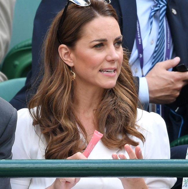 Kate Middleton no torneio de tênis de Wimbledon
