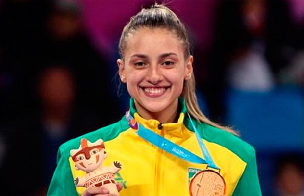 Milena Titoneli: a 1ª atleta de taekwondo brasileira a ganhar ouro no Pan