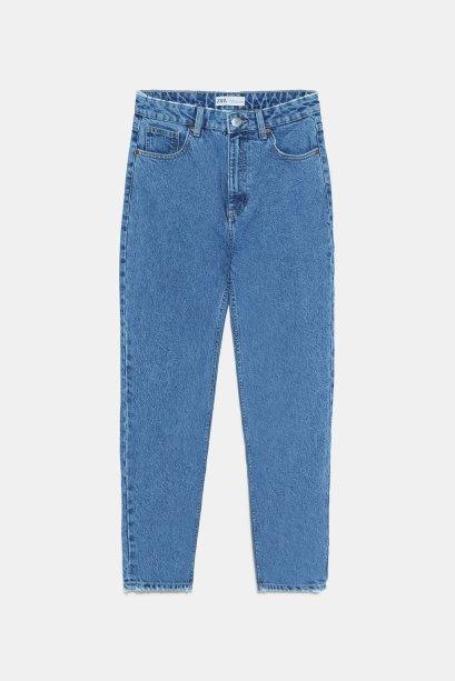 Calça mom jeans Zara (R$ 189*).