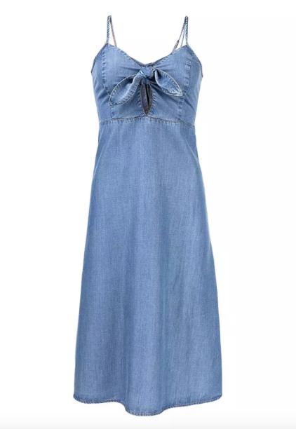 Vestido mídi Hering (R$ 169,99*).