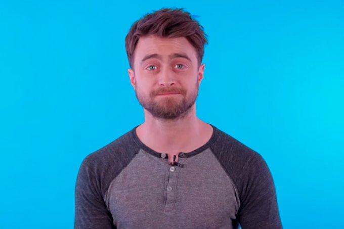 Daniel Radcliffe diz que não tem redes sociais pois elas só servem para estressar