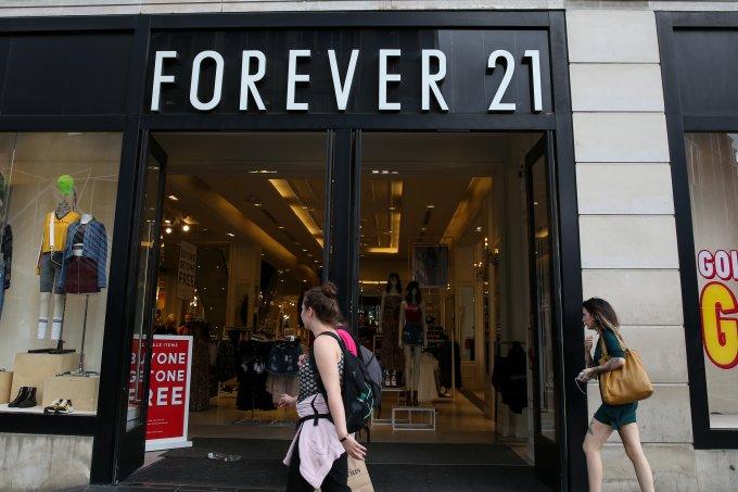 Forever 21 pode decretar falência nos Estados Unidos
