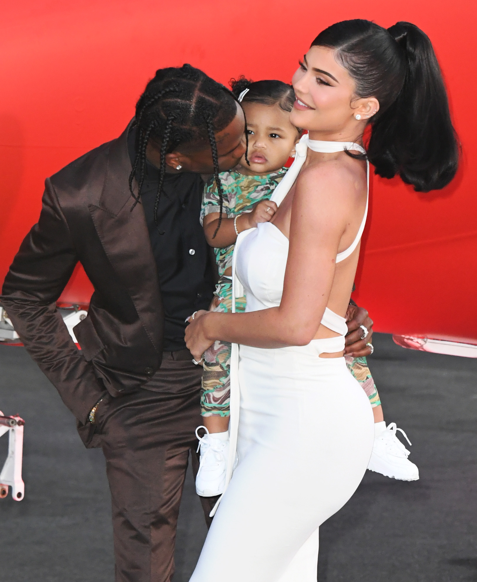 Kylie Jenner, Travis Scott e Stormi Webster