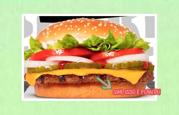 O famoso hambúrguer de plantas do Burger King vai ser lançado no Brasil!