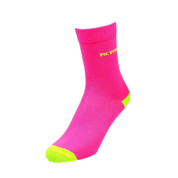 Meia neon rosa Altai Company (R$ 44,99*).