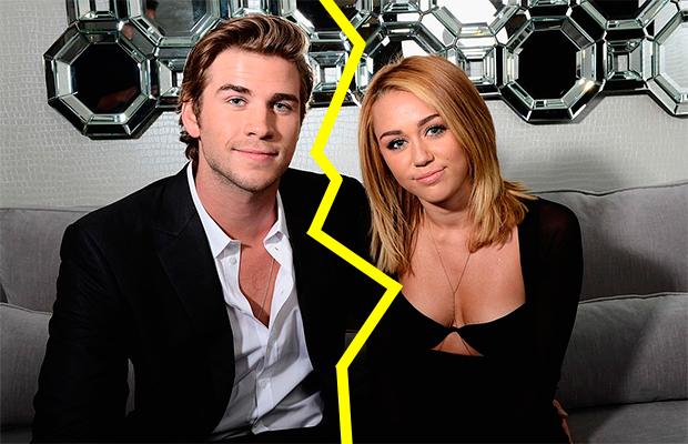 Separação na área! Miley Cyrus e Liam Hemsworth não estão mais juntos